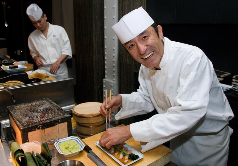 Chef Masa Matsushito.  Photo by Zandy Mangold ©2008