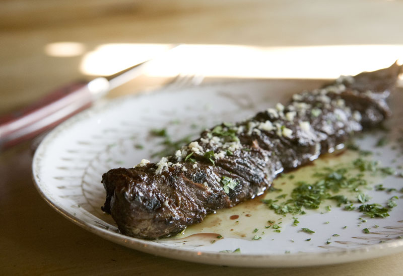 Butcher's Steak At St. Anselm, Brooklyn, NY | Zandy Mangold