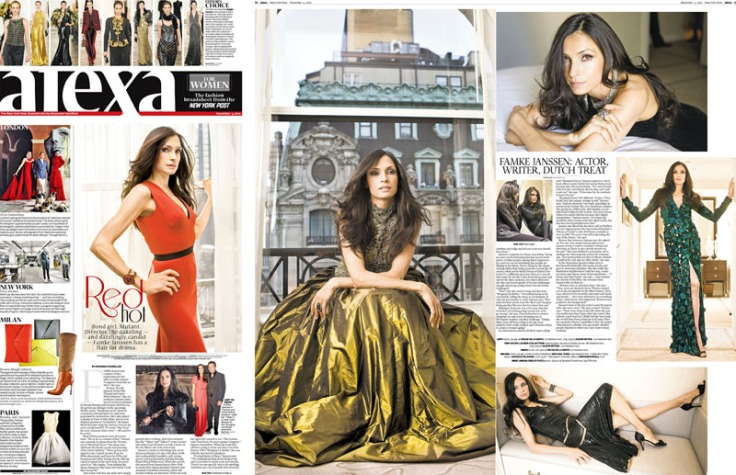 Famke Janssen, Peninsula Hotel, NY, NY. Photos By Zandy Mangold. © 2012