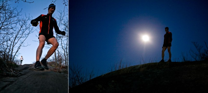 Early Morning Hill Repeats, Mt. Beacon, NY. Photos By Zandy Mangold. © 2013