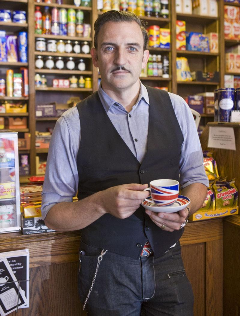 Sean Kavanagh-Dowsett, Tea & Sympathy, NY, NY. Photo By Zandy Mangold. © 2013