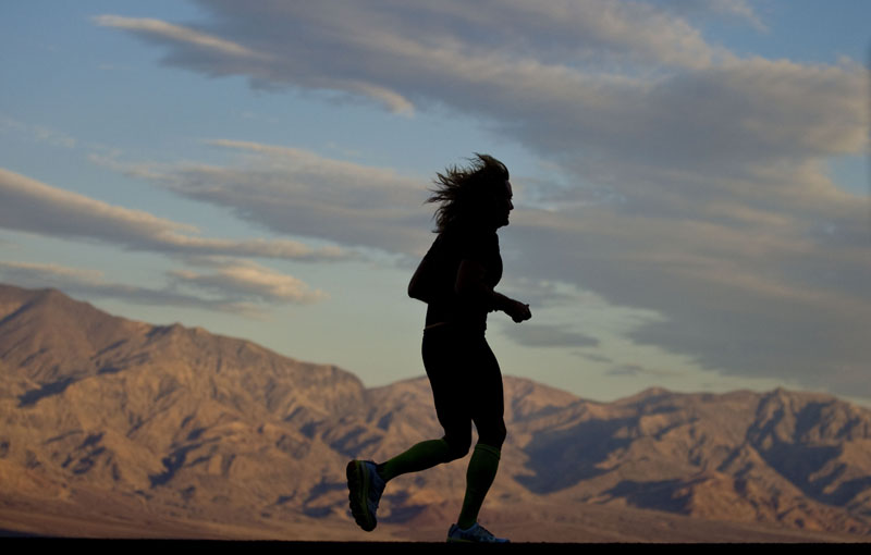 Frank McKinney, Badwater Ultramarathon, Death Valley, CA. Photo By Zandy Mangold. ©2013