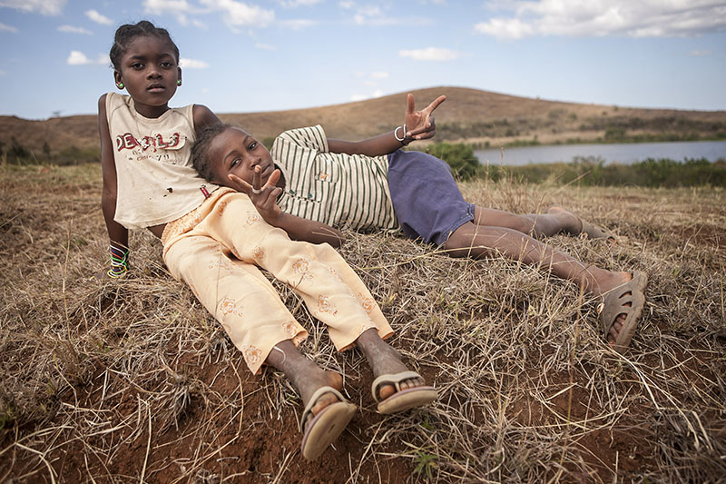 Kids, Madagascar. Photo By Zandy Mangold. ©2014